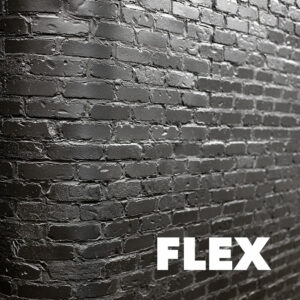 Picture showing the style of flex brick